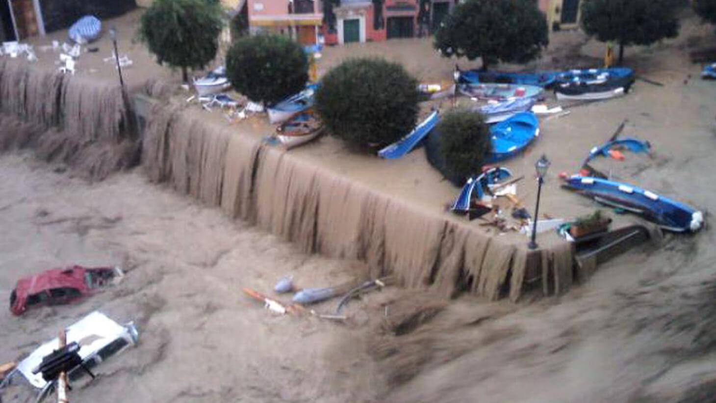 L'alluvione del 2011 a Vernazza
